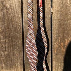 Original Penguin plaid bow tie